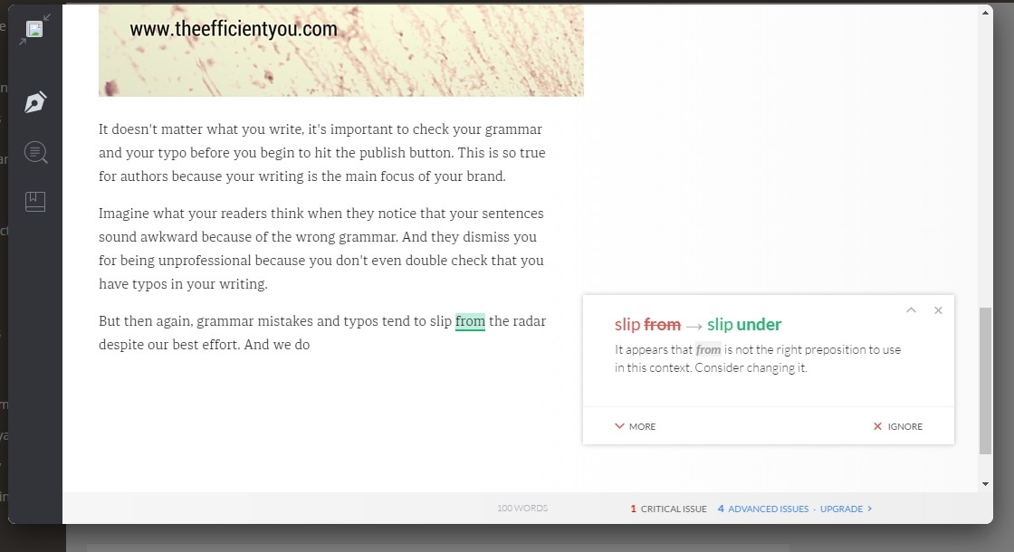 check my essay for grammatical errors The app helps you check your english grammar for my over all rating saying it could be a grammatical error.