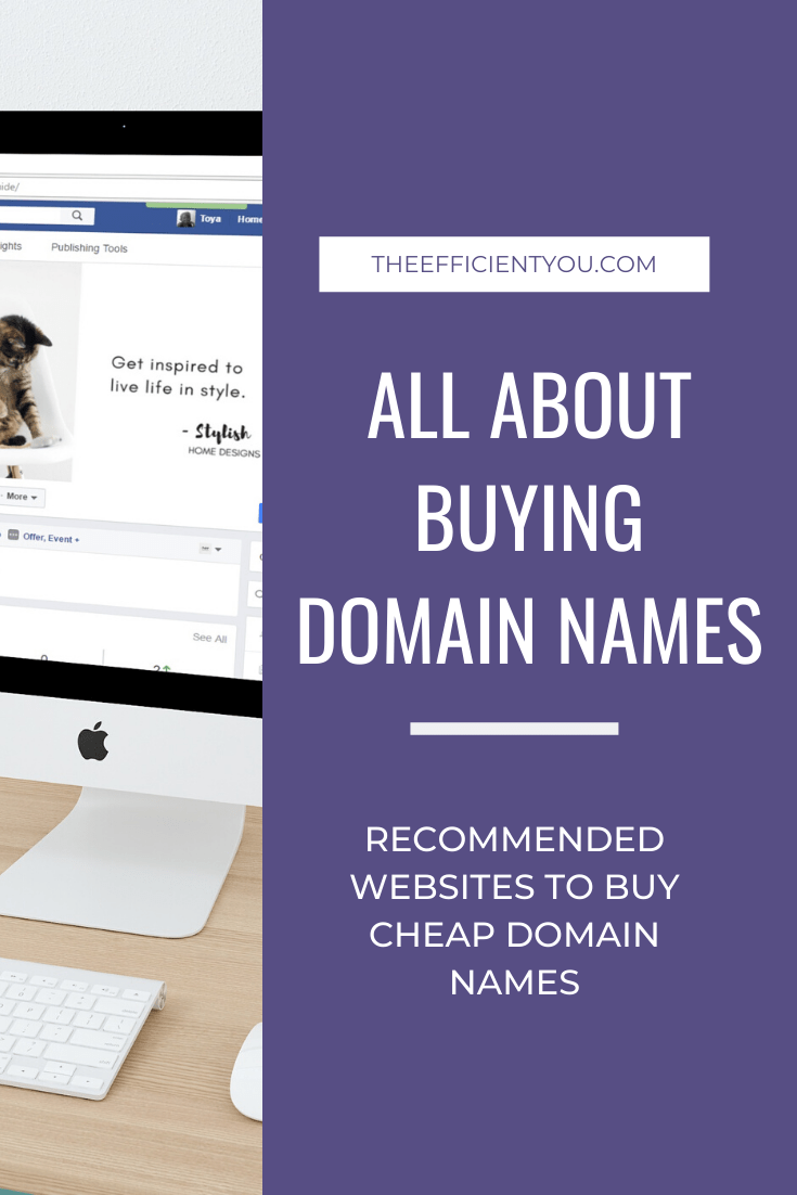 Where to buy cheap domain names for your author website